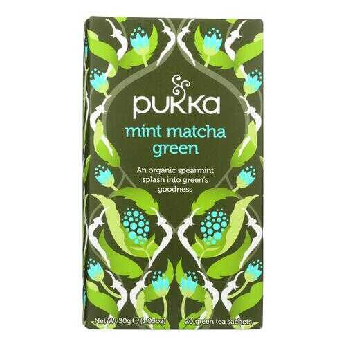 Pukka Herbal Teas - Tea Mint Matcha Green B - Case of 6 - 20 CT