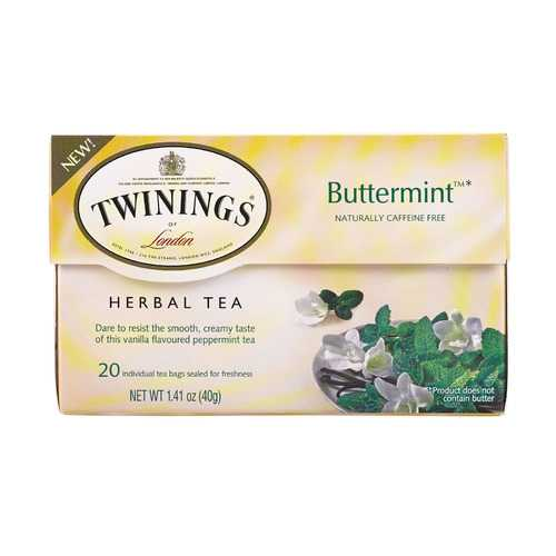 Twinings Tea Tea - Herbal - Buttermint - Case of 6 - 20 count