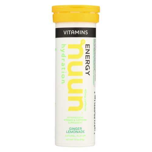 Nuun Hydration Drnk Tab - Ginger  Lemonade - Case of 8 - 12 TAB