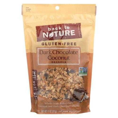 Back To Nature Granola - Dark Chocolate Coconut - Case of 6 - 11 oz.