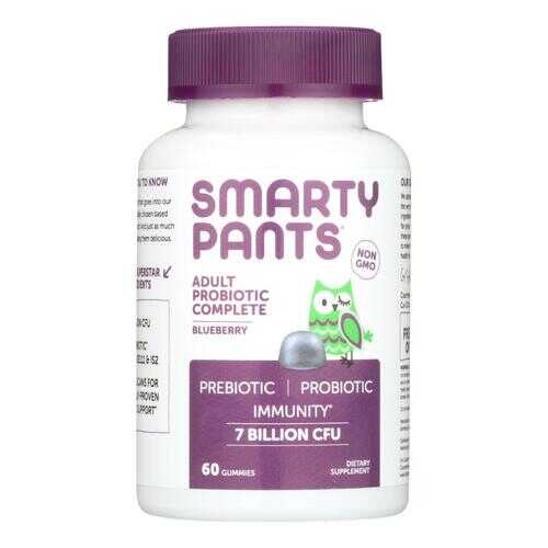 Smartypants Adult Probioic - Blueberry - 60 count