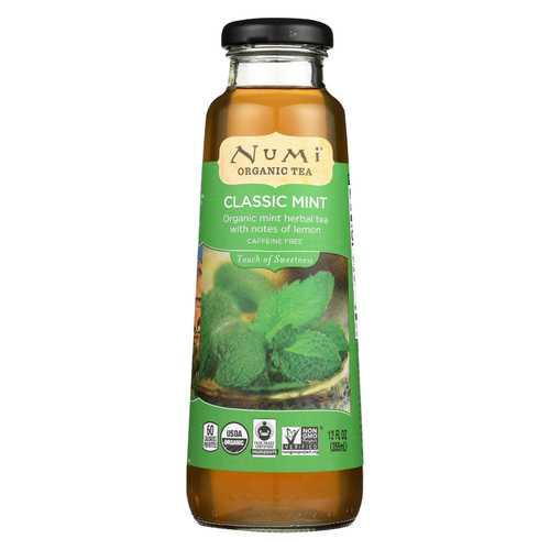 Numi Tea Tea - Organic - Clasic Mint - Case of 12 - 12 fl oz