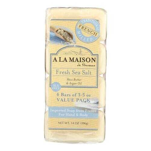 A La Maison - Bar Soap - Fresh Sea Salt - 4/3.5 Oz