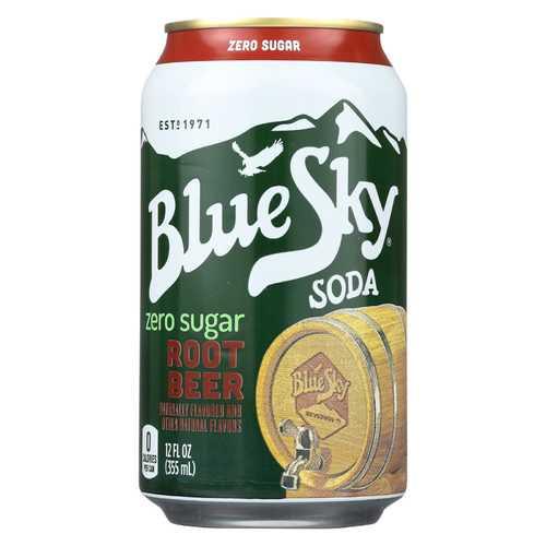 Blue Sky - Soda - Root Beer - Case of 4 - 6/12 fl oz