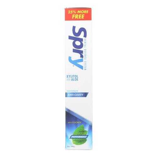 Spry Toothpaste - Peppermint - Flouride - 5 oz