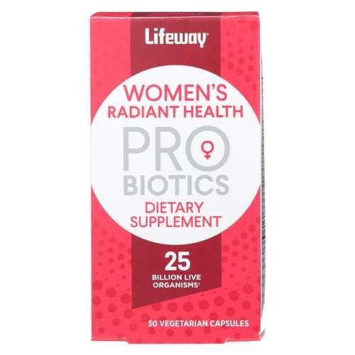 Lifeway Kefir Probiotics - Dietary Supplement - Women's Radiant Health - 30 count