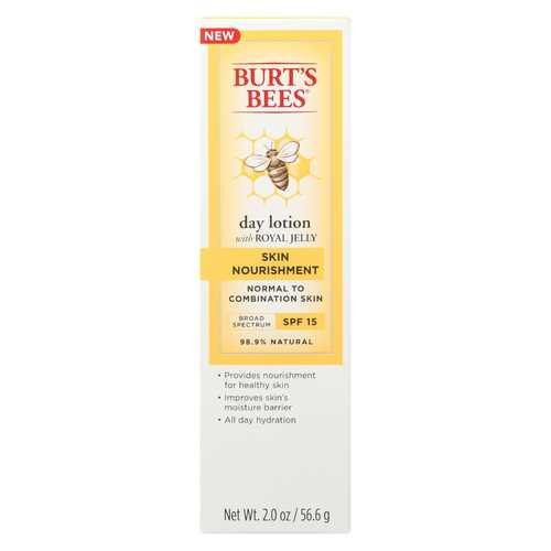 Burts Bees Lotion - Day - Skn Nourishing - Spf15 - 2 fl oz