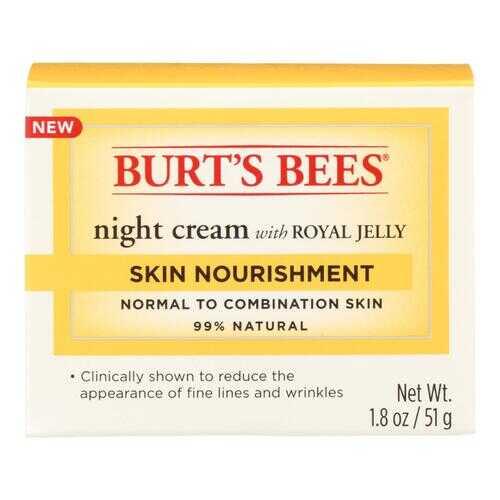 Burts Bees Night Cream - Skin Nourish - 1.8 oz