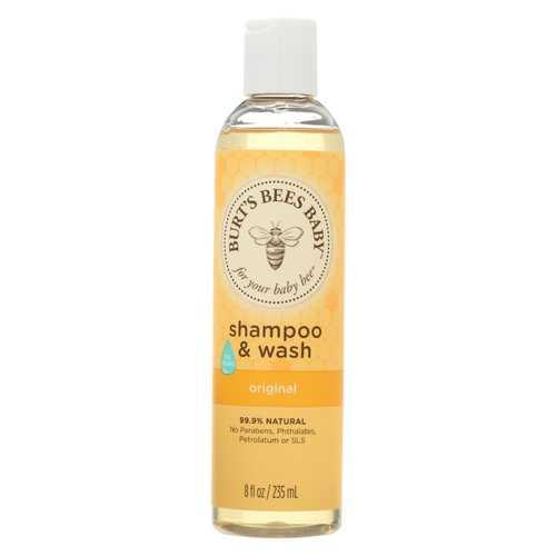Burts Bees - Shampoo & Wash - Baby Bee - 8 fl oz