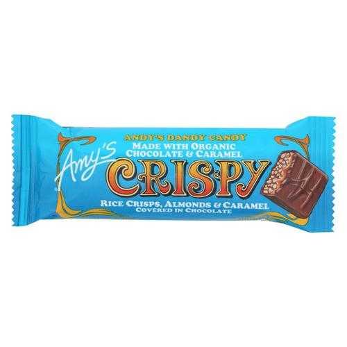 Amy'S Candy Bar Crispy - Case Of 12 - 1.35 Oz