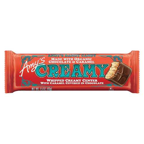 Amy's Candy Bar - Organic - Creamy - Case of 12 - 1.3 oz