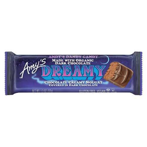 Amy's Candy Bar - Organic - Dreamy - Case of 12 - 1.3 oz