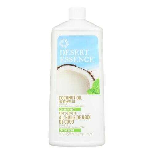 Desert Essence - Coconut Oil Mouthwash - Coconut Mint - 16 fl oz