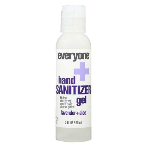 Everyone Sanitizer - Gel - Lavender - Aloe - Case of 6 - 2 fl oz