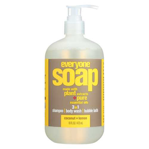 Everyone Soap - 3 In 1 - Coconut - Lemon - 16 fl oz