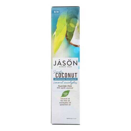 Jason Natural Products Refreshing Toothpaste - Coconut Eucalyptus - 4.2 oz