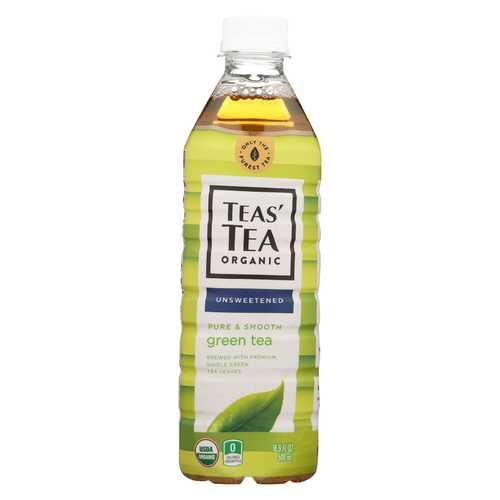 Itoen Organic Tea - Pure Green Bottle - Case of 12 - 16.9 fl oz