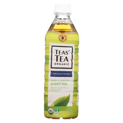 Itoen Organic Tea - Pure Green Bottle - Case of 12 - 16.9 fl oz