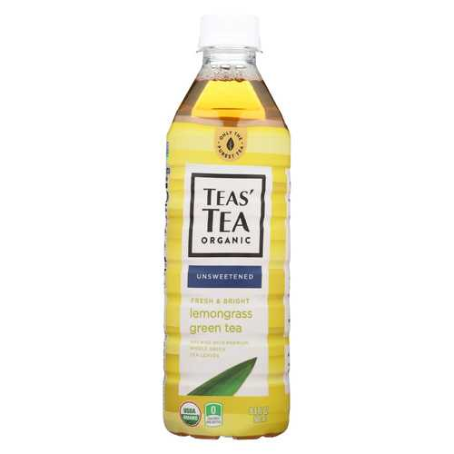 Itoen Tea - Organic - Lemongrasss - Green - Bottle - Case of 12 - 16.9 fl oz