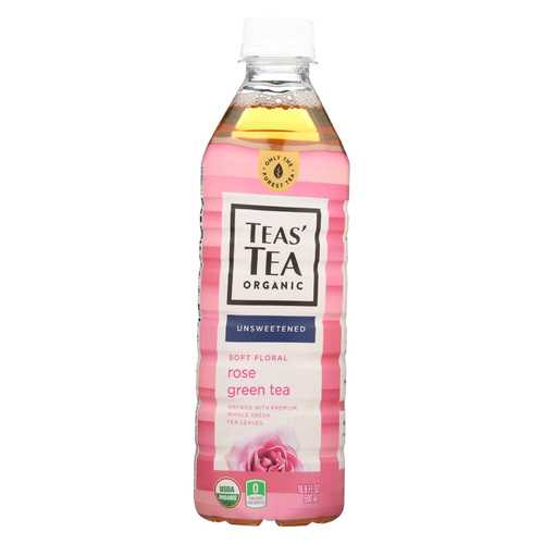 Itoen Tea - Organic - Rose - Green - Bottle - Case of 12 - 16.9 fl oz