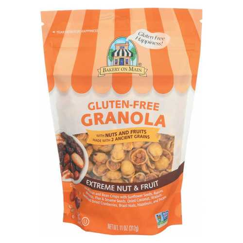 Bakery On Main On Main Gluten Free Granola Extreme - Fruit and Nut - Case of 6 - 12 oz.