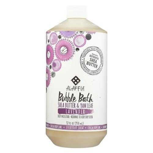 Alaffia - Everyday Bubble Bath - Lavender - 32 fl oz.