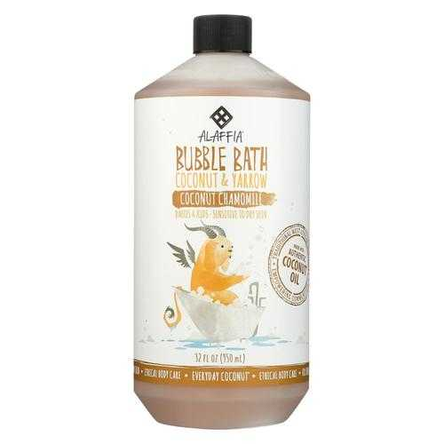 Alaffia - Everyday Bubble Bath - Coconut Chamomile - 32 fl oz.
