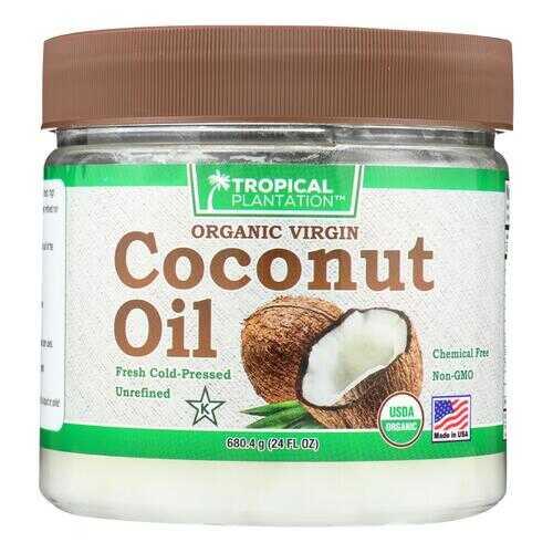 Tropical Plantation Organic Coconut Oil - 24 Fl oz.