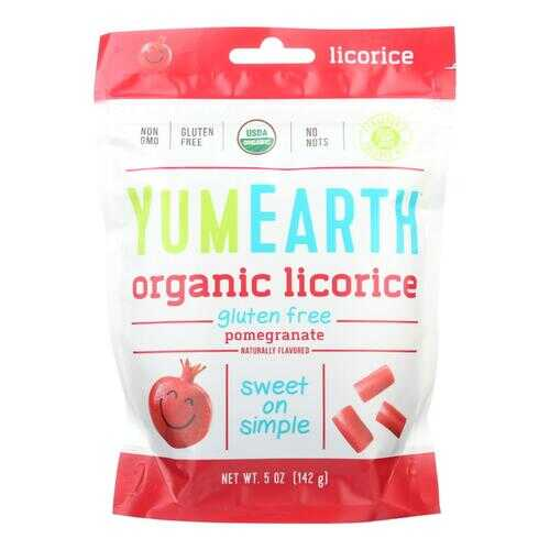Yumearth Organics Soft Eating - Pomegranate Licorice - Case of 12 - 5 oz.