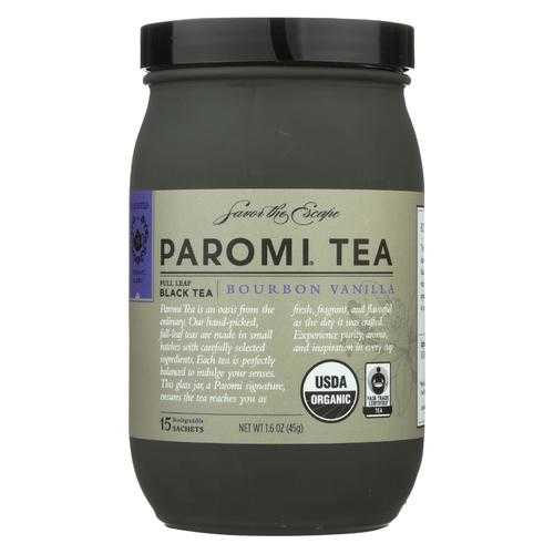 Paromi Tea - Bourbon Vanilla - Case of 6 - 15 count
