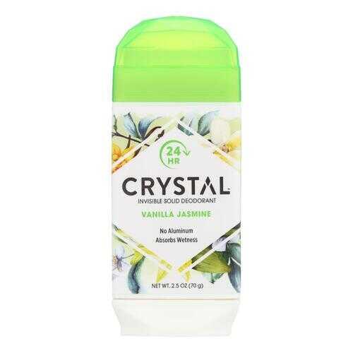 Crystal Deodorants - Invisible Solid Deodorant - Vanilla Jasmine - 2.5 oz.