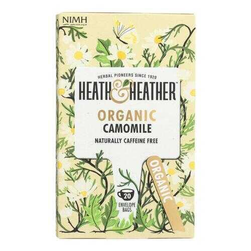 Heath & Heather - Tea Camomile Herbal - Case of 6 - 20 CT