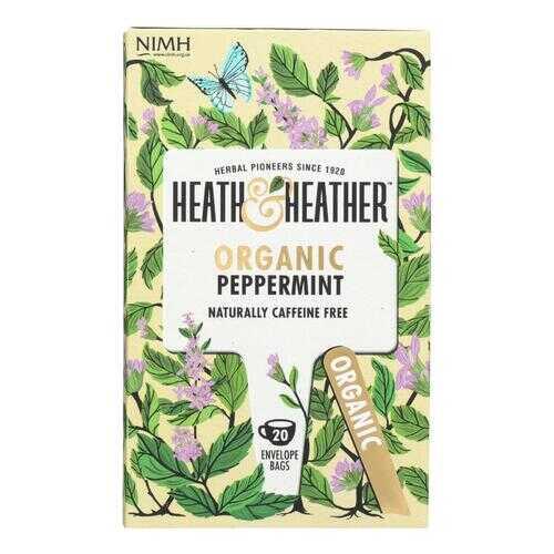 Heath & Heather - Tea Peppermint Herbal - Case of 6 - 20 CT