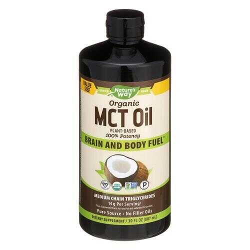 Nature's Way - 100 Percent MCT Oil from Coconut - 30 fl oz.