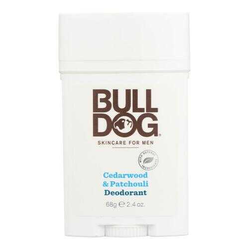 Bulldog Natural Skincare Deodorant - Cedrwood - Patchouli - 2.4 oz