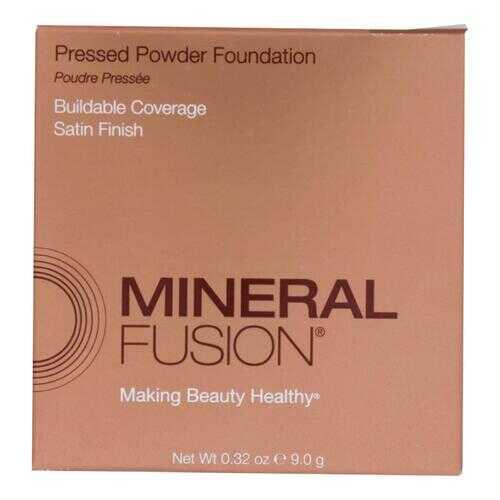 Mineral Fusion - Pressed Powder Foundation - Deep 2 - 0.32 oz.