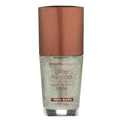 Mineral Fusion - Nail Polish - Glitter Top Coat - 0.33 oz.
