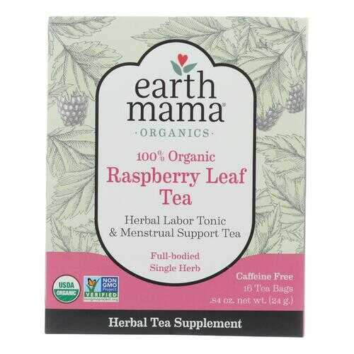 Earth Mama - Organic Tea - Raspberry Leaf - 16 Count