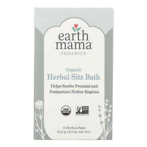 Earth Mama - Organic Tea - Herbal Sitz Bath - 6 Count