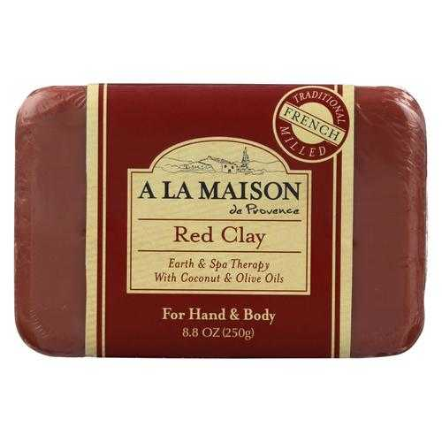 A La Maison - Bar Soap - Red Clay - 8.8 Oz