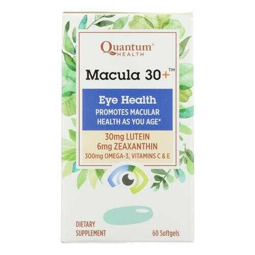 Quantum Research - Macula 30 Eye Health - 1 Each - 60 SGEL
