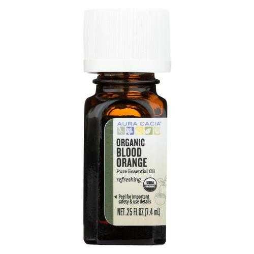 Aura Cacia Essential Oil - Blood Orange - Case of 1 - .25 fl oz.