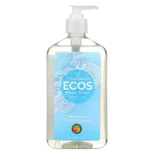 ECOS Hand Soap - Free And Clear - Case of 6 - 17 fl oz.