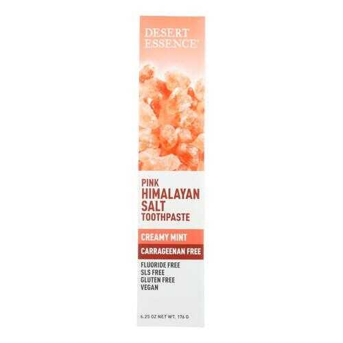 Desert Essence Toothpaste - Creamy Mint - Case of 1 - 6.25 oz.