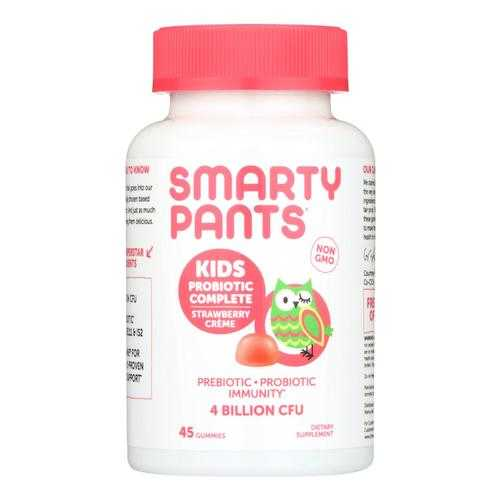 Smarty Pants Strawberry Creme Kids Probiotic Complete Dietary Supplement  - 1 Each - 45 CT