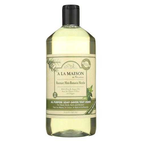 A La Maison Liquid Hand Soap - Rosemary Mint - 33.8 fl oz.