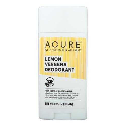 Acure - Deodorant Lemon Verbena - 2.25 oz