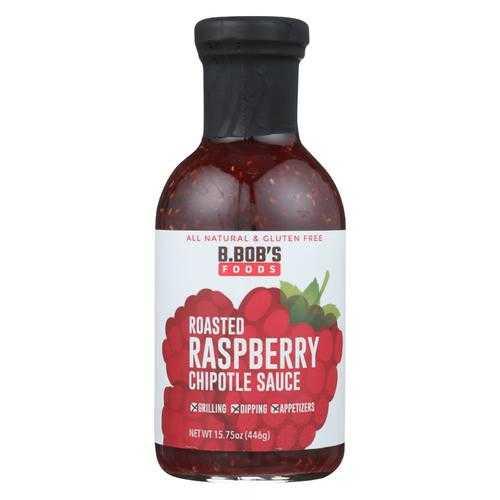 Bronco Bob's - Chipotle Sauce - Roasted Raspberry - Case of 6 - 15.75 fl oz.