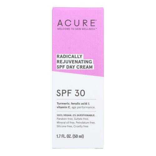 Acure - SPF 30 Day Cream - Radically Rejuvenating - 1.7 fl oz.