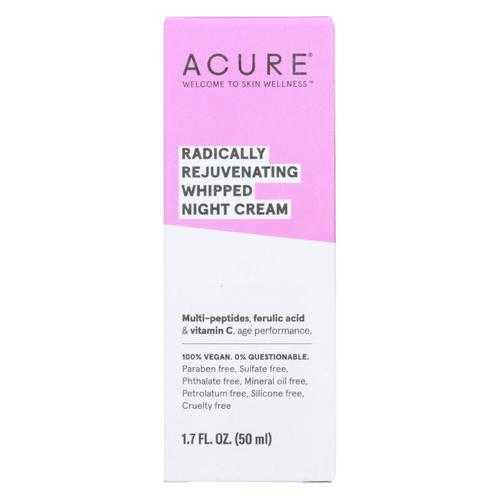 Acure - Whipped Night Cream - Radically Rejuvenating - 1.7 fl oz.